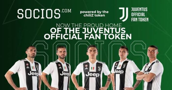 Juventus Cryptocurrency Token ($JUV) Now Available on Socios.com