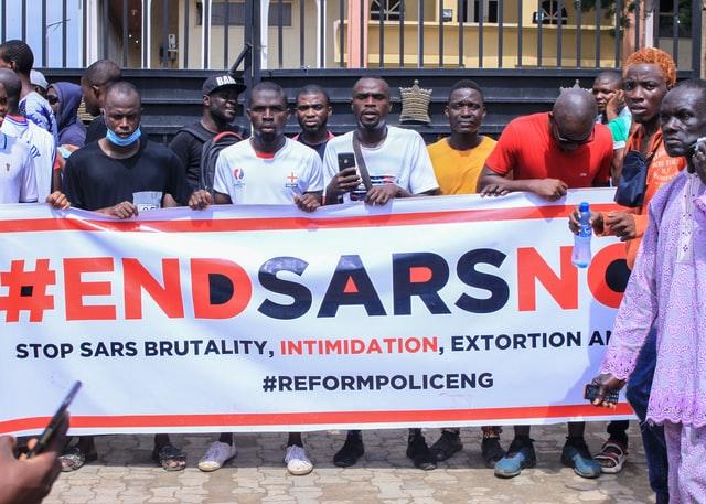 nigerians protest
